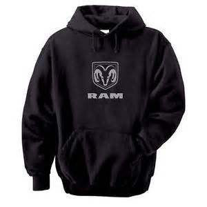 Dodge Sweatshirt Dodge Ram Logo Mens Black Hooded Sweatshirt Ebay
