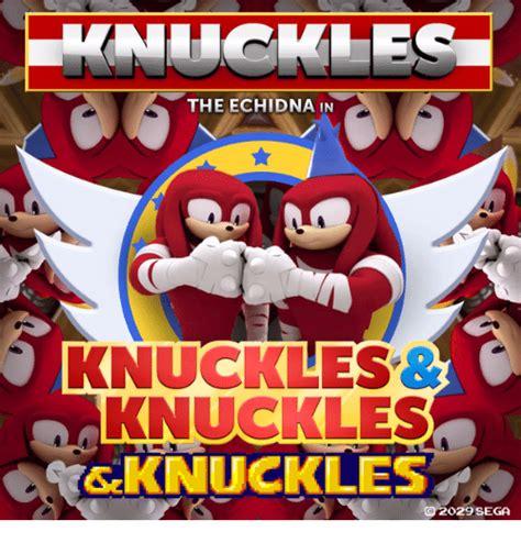 Knuckles Meme - the echidna in knuckles knuckles knuckles 029 sega dank