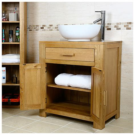 Bathroom Vanity Unit Without Basin by Solid Oak Vanity Unit Cabinet Wash Stand Without Basin