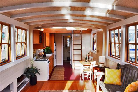 Houseboat Interiors by Seattle Houseboat Peace 240 000 Sold