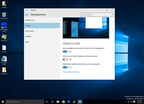 how to change taskbar color taskbar color change in windows 10