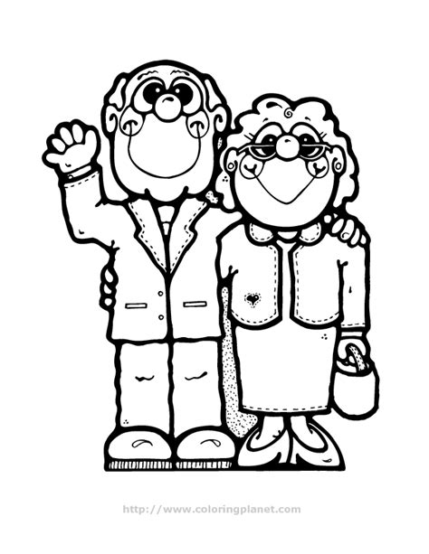 grandma in spanish coloring pages coloring pages