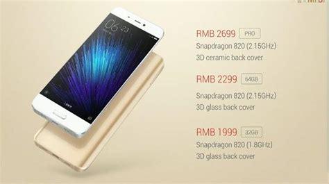 Hp Xiaomi Mi5 Di Indonesia harga xiaomi mi 5 dan spesifikasi kapan rilis di