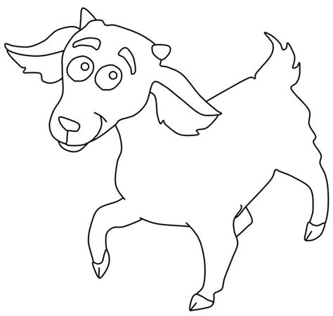 goat template gallery