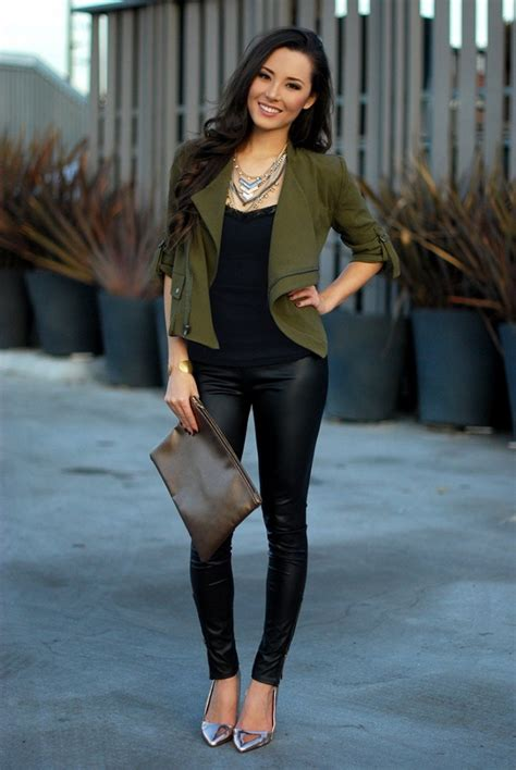 trend report leather trousers