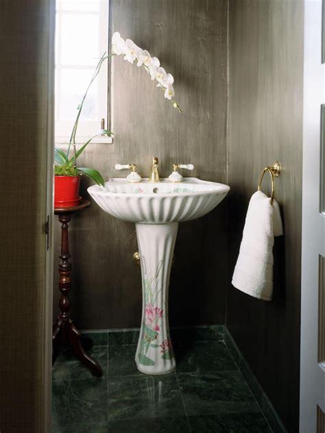 powder room sink ideas photo page hgtv