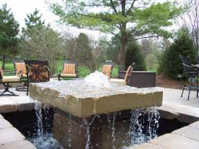 Patios Ideas Small Backyards Water Features Anderson Greenscapes