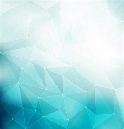 blue polygonal background vector   cdrai