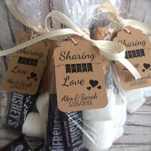 S Mores Favors by 130 S Mores Wedding Favor Tags Personalized By Marksonmyheart
