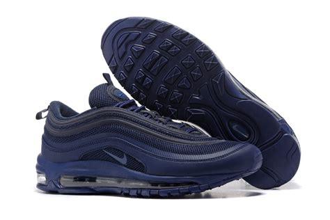 Nike Airmax By Pray Shoes air max 97 navy blue air max 97 midnight navy gold mens