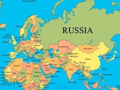 russia map and surrounding countries matthew poska s web for adventure
