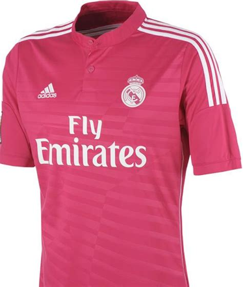 Jersey Away Pi real madrid jersey 2014 pink www imgkid the image kid has it