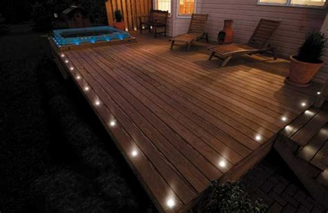 led deck lights recessed interior design ideas