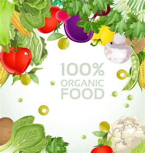 4 Designer   Vegetables background 03 vector material