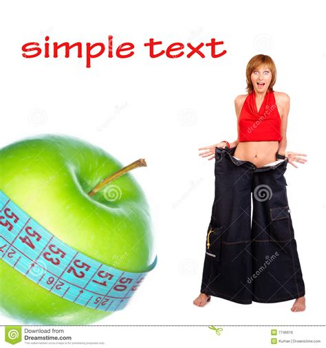 apple diet apple diet royalty free stock image image 7746616