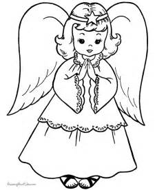 free printable christmas coloring sheets christmas angel