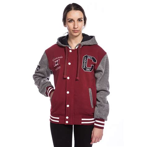 canadian vintage baseball jacket