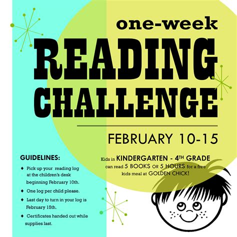 reading contest themes one week reading challenge wylie tx i love to read