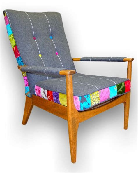 Patchwork Wood Furniture - 25 unique upholstery ideas on fabric