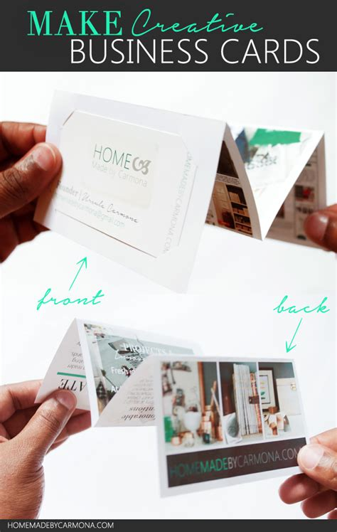 how to make fold out cards how to make a fold out portfolio business card