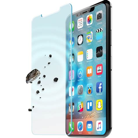 Iphone B H Iluv Tempered Glass Screen Protector For Iphone X Xs Aixtemf B H
