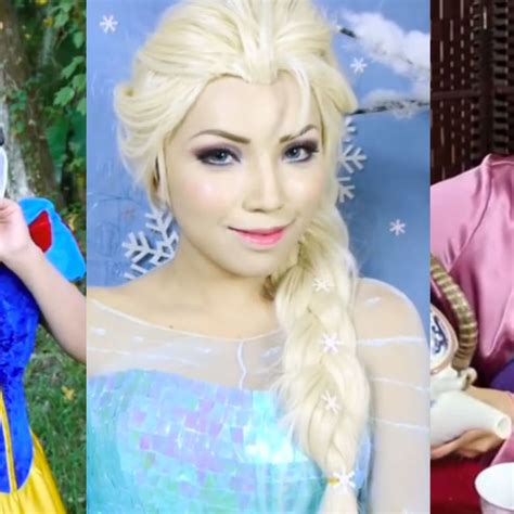samantha lefave this makeup artist transformed herself into every disney character you love