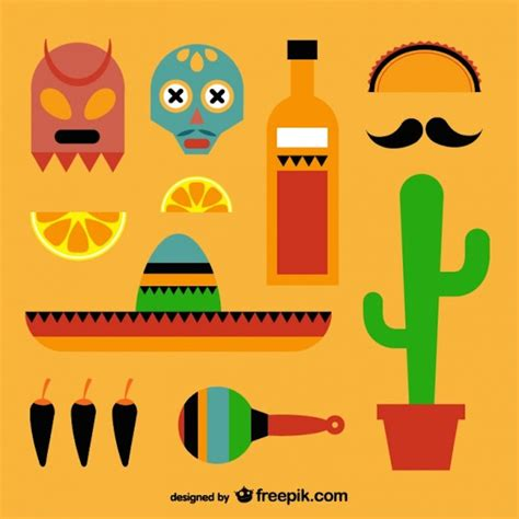 imagenes en vectores para illustrator gratis vectores de elementos mexicanos y vintage gratis frogx three