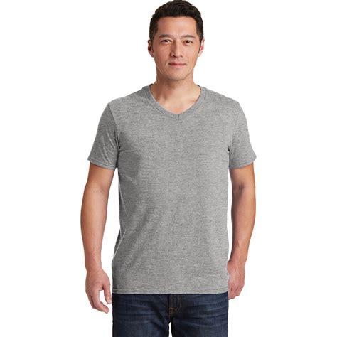 Kaos Live Tshirt Gildan Softstyle 1 gildan 64v00 softstyle v neck t shirt sport grey fullsource