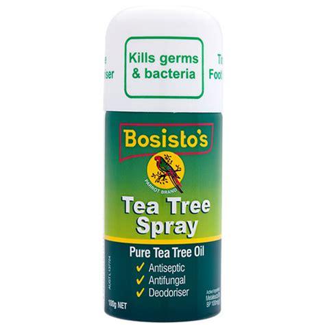tree spray bosisto s tea tree spray fgb products