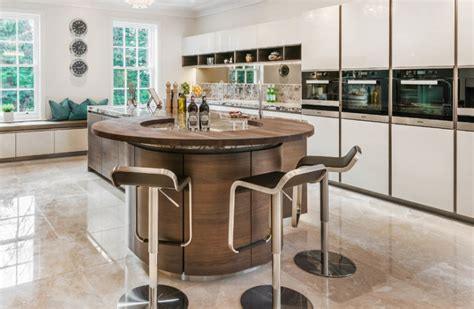 circular kitchen island 40 kitchen island designs ideas design trends