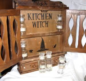 Herb Storage Cabinet A Vintage Kitchen Witchs Apothecary Witch Herb Cabinet Storage