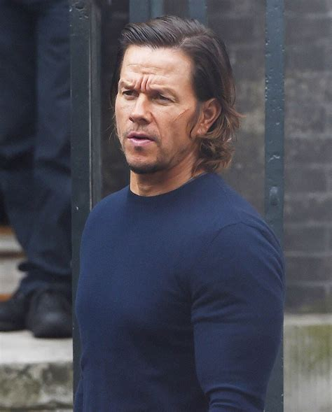 Marky On Brokeback by Wahlberg On The Set Of Transformers The Last
