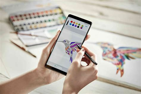 Note 9 Drawing by Samsung Lanza El Galaxy Note 8 Unipymes Diplomados