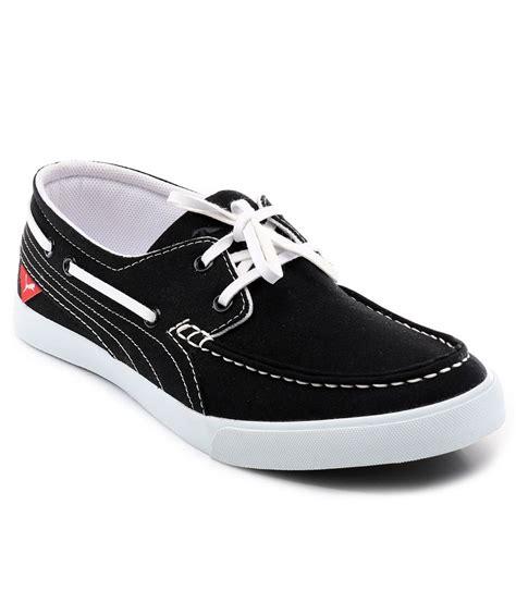 boat shoes puma puma black boat style shoes price in india buy puma black