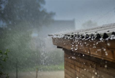 late summer rain revealing  leaky roof heres