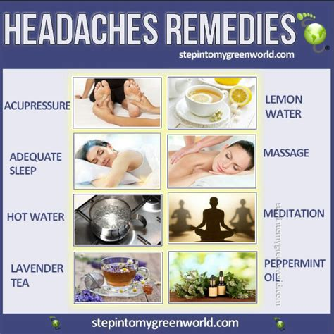 headache remedies herbs remedies vitamins
