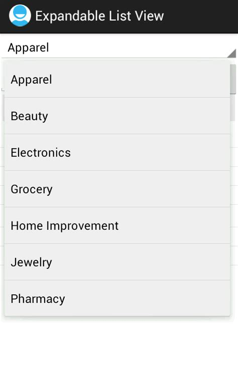 android expandablelistview android expandablelistview exle