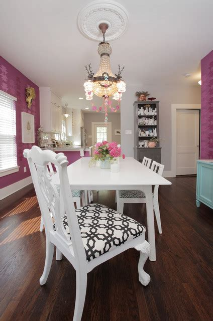 my houzz colorful hand painting bedecks a creative home