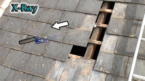 Slate Roof Repair How To Repair A Slate Roof Easy Diy Replace Broken