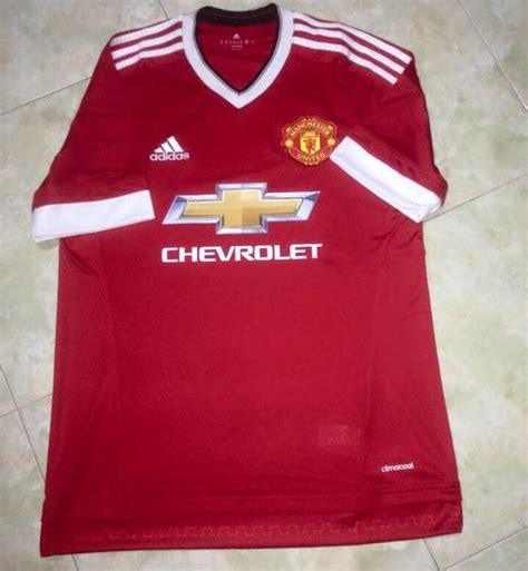 Jersey Leaked Mu by Leaked Manchester United Adidas Kit 15 16 Mu Home Away