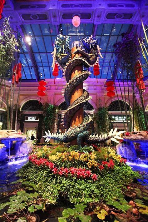 celebrate new year at bellagio s conservatory