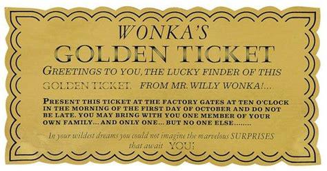 25 best ideas about golden ticket on ticket