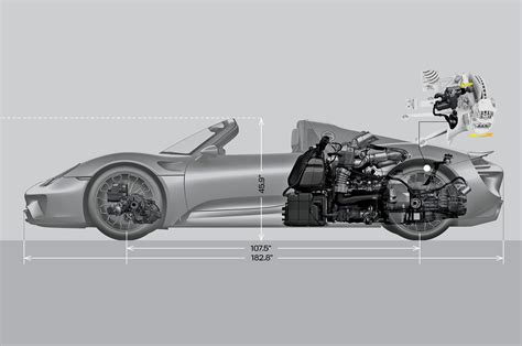 porsche 918 spyder engine the hypercar blueprint motor trend