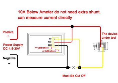 vdc  voltmetreampermetre redred