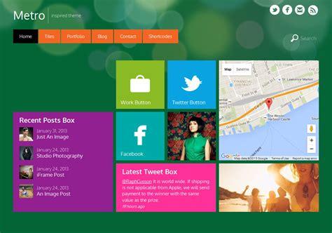 metro website design fresh start web designs