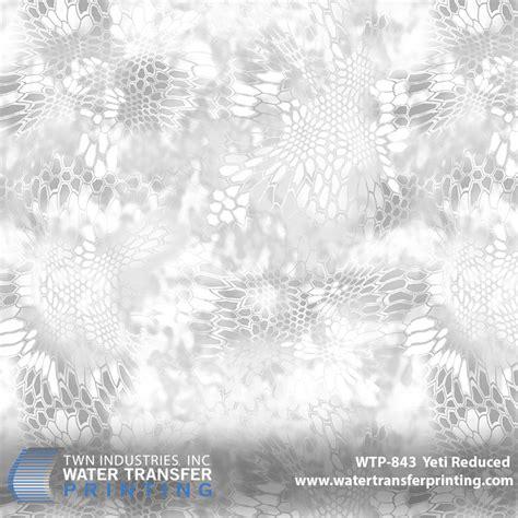 kryptek yeti pattern kryptek yeti reduced hydrographic film twn industries