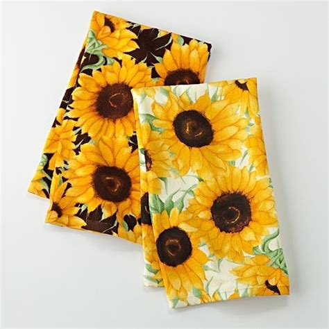 Sunflower Kitchen Towels by 470 Best Sunflower Collections Images On