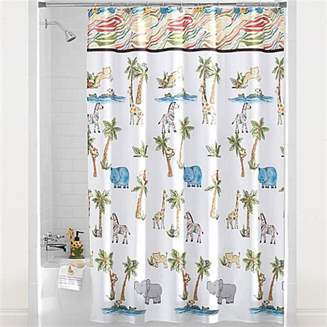 design your own shower curtain online safari shower curtain collection bed bath beyond