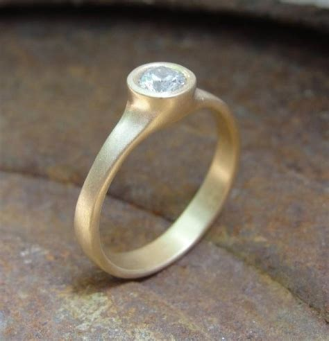 Handmade Gold Engagement Rings - engagement ring gold engagement ring solitaire