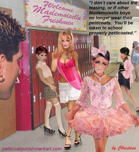 petticoat for sissy art christeen foto 131 christeen punishment art